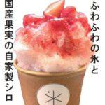 大人気「しのろシェーブアイス」イチゴ味!